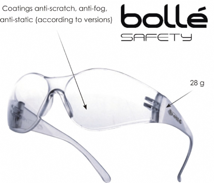 Bolle Silium safety glasse