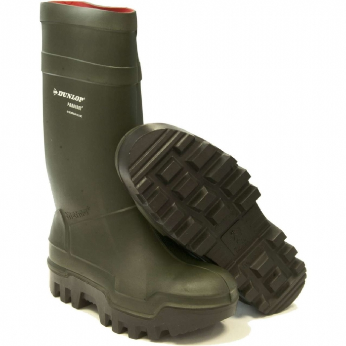 steel toe cap wellies
