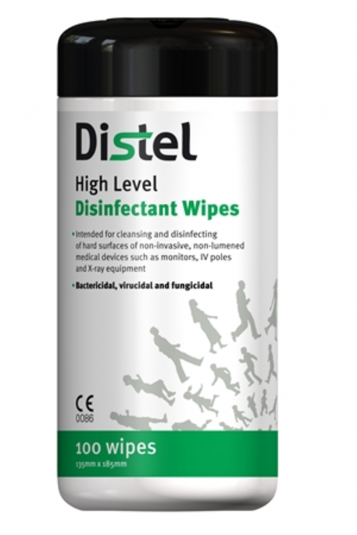 Distel Disinfectant Wipes
