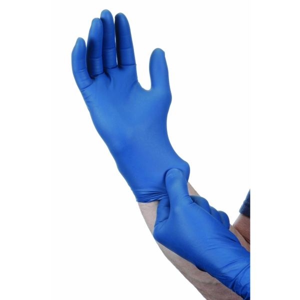 Different Coloured Nitrile Gloves For Work