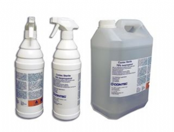 Contec introduces Sterile 70% Isopropanol for Europe