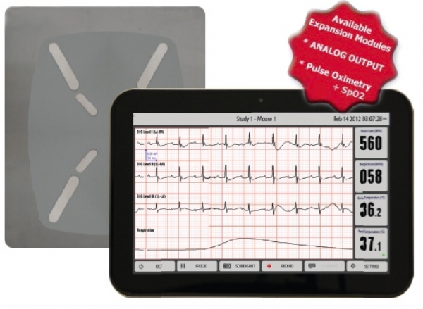 Rodent ECG Monitor