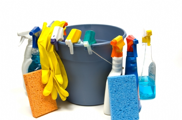 Saving money on hygiene cleaning supplies