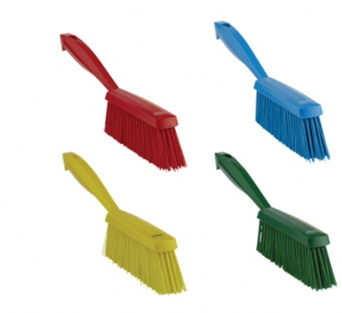 4589 Vikan Hygienic Medium Bristle Hand Brush