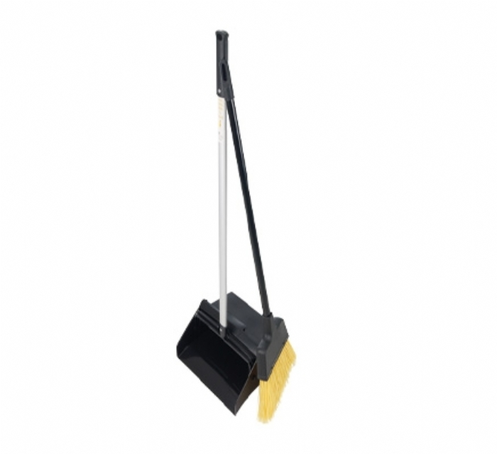 Dustpan and Brush Set Long Handled