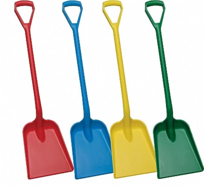 5625 Vikan Hygienic D Grip Plastic Shovel