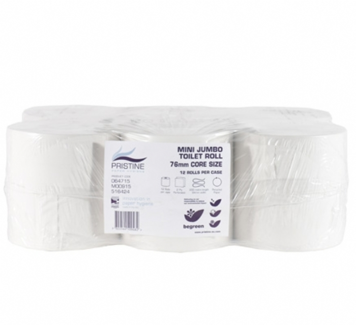 5392 Pristine Small Roll Jumbo Toilet Tissue