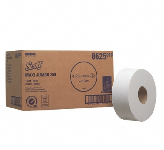 8625 SCOTT* PERFOMANCE Large Roll Jumbo Toilet Tissue