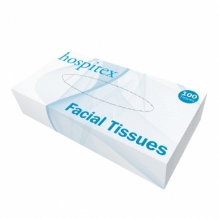1260 Hospitex 2 ply Facial Tissues