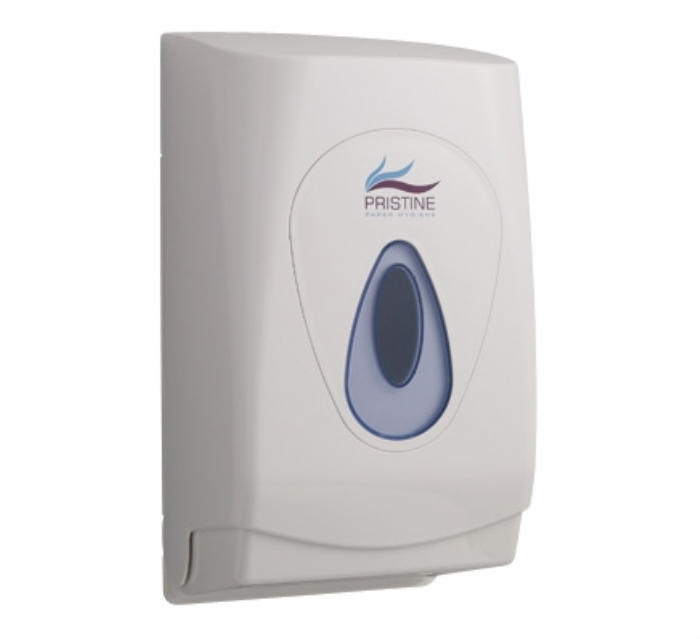 53817 Pristine Bulk Pack Folded Toilet Tissue Dispenser