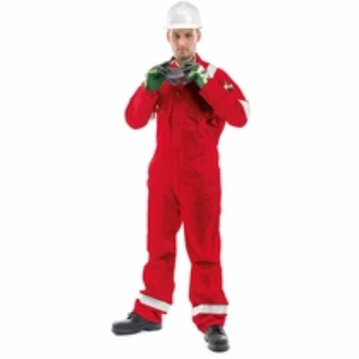 Roots Flamebuster Classic Nordic Coverall Tall - Orange