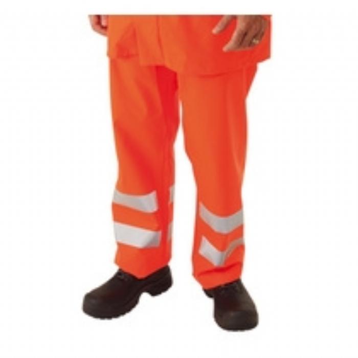 Sioen Flexothane EN 471 High Visibility Flame Retardant Anti-Static High Visibility Trousers