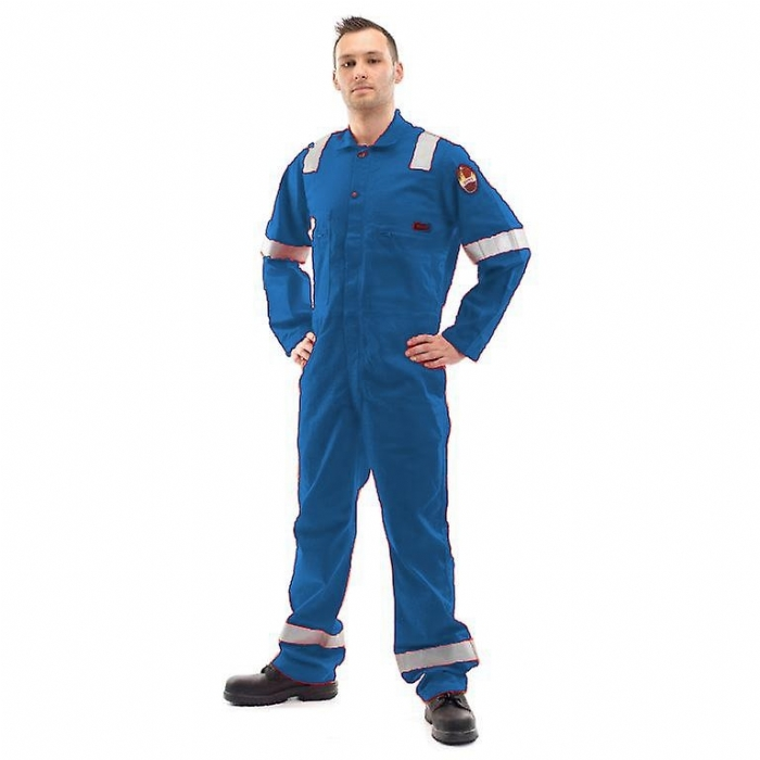 Roots Flamebuster Classic Nordic Coverall Tall - Royal Blue