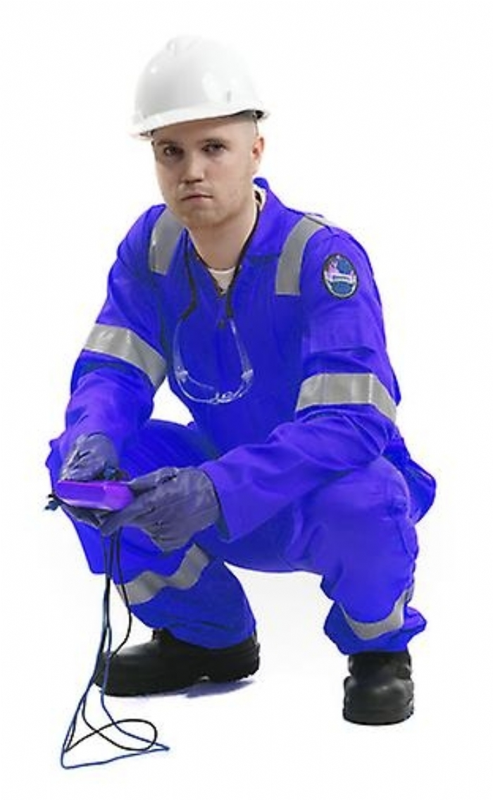 Roots Flamebuster Classic Nordic Coverall Regular - Royal Blue