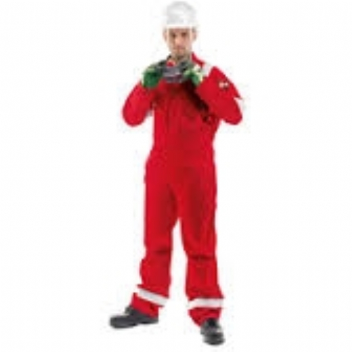 Roots Flamebuster Classic Nordic Coverall Tall - Red