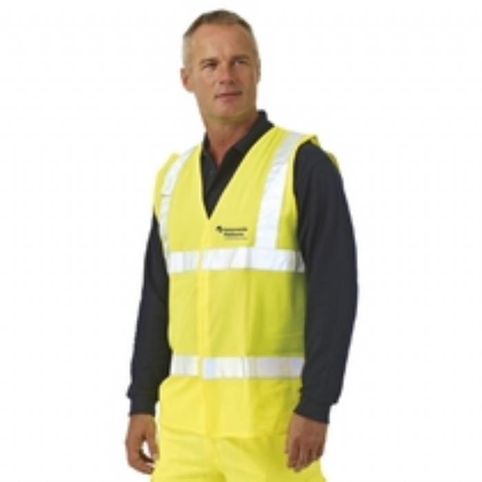 BlazeTEK EN 471 Flame Retardant High Visibility Waistcoat