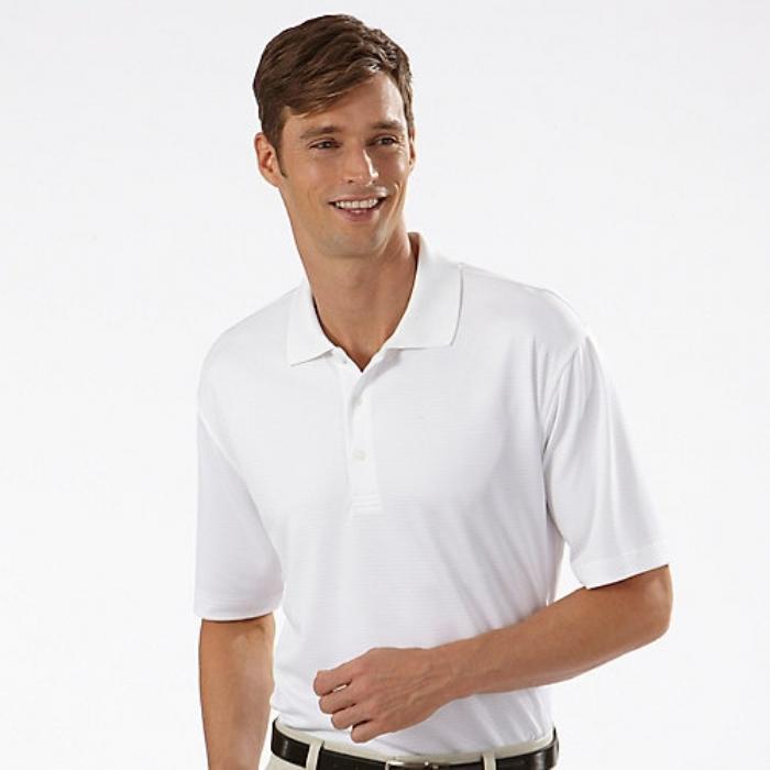 Endurance Polycotton Standard Polo Shirt White