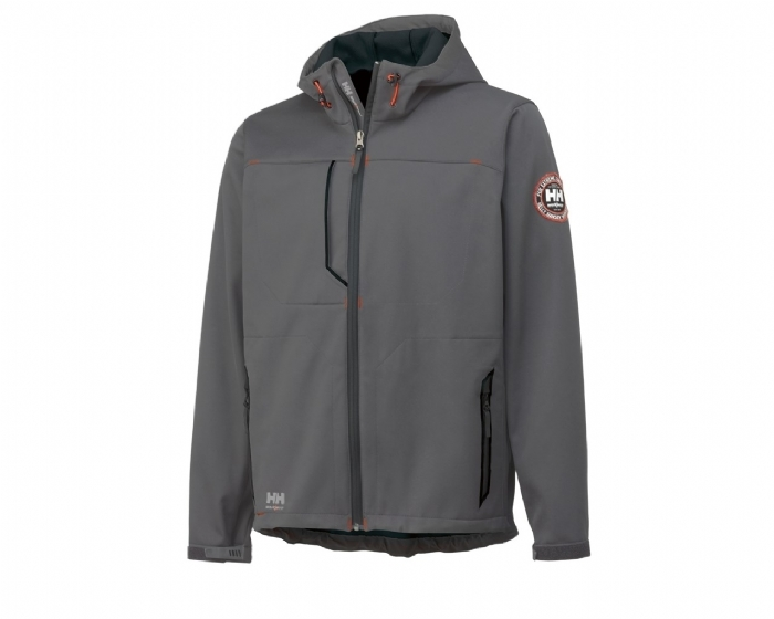 Helly Hansen Leon Soft Shell Jacket - Grey