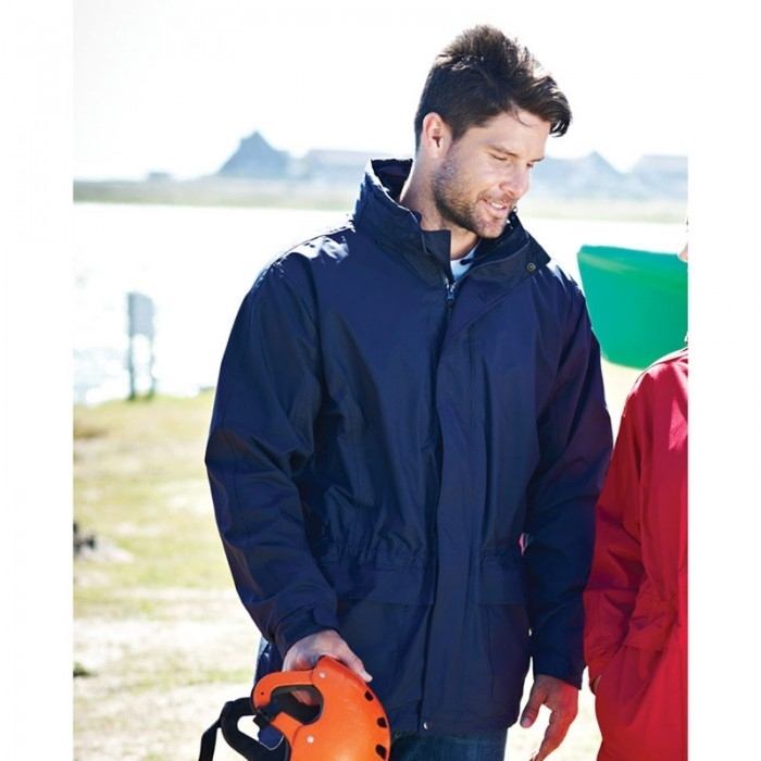 Regatta Benson II Breathable Waterproof 3-In-1 Mens Jacket Navy