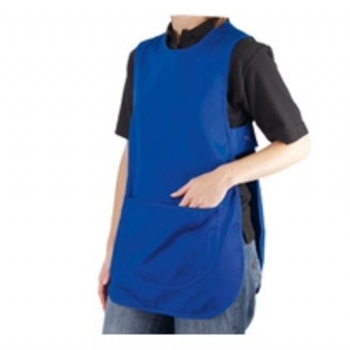 Ladies Polycotton Tabard - Royal Blue Size:10/12 14/16 18/20 20/22