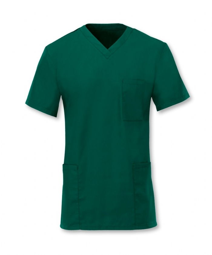 Scrub Tunic Bottle Green