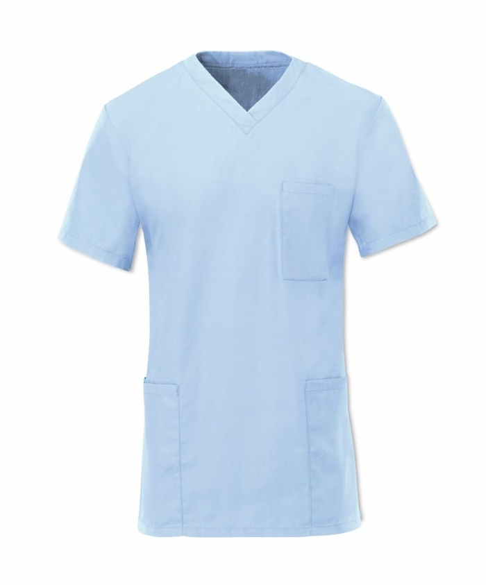 Scrub Tunic Pale Blue