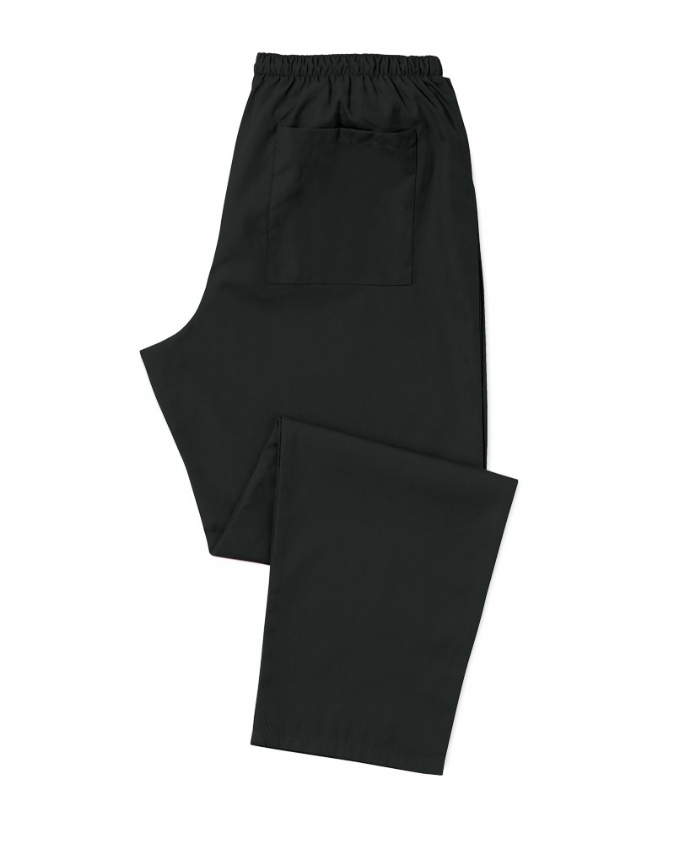 Scrub Trousers Black