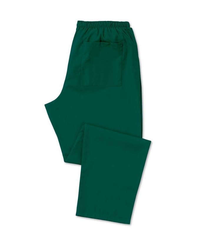 Scrub Trousers Bottle Green