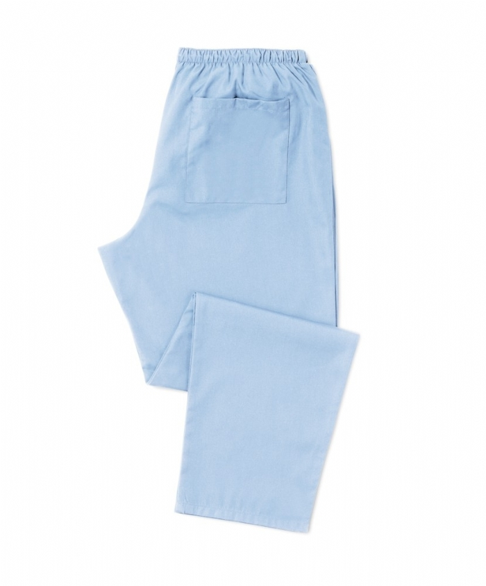 Scrub Trousers Pale Blue