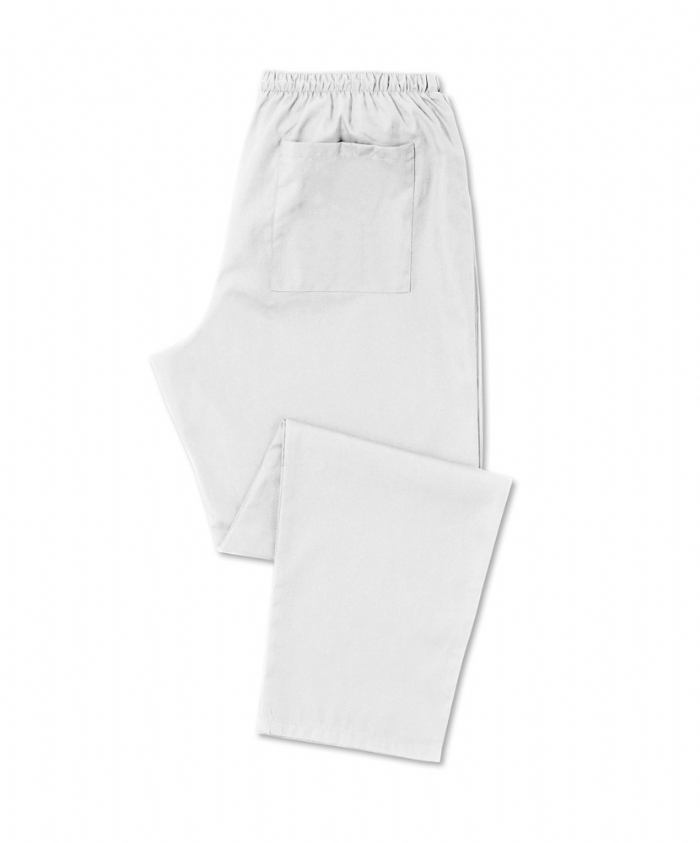 Scrub Trousers White