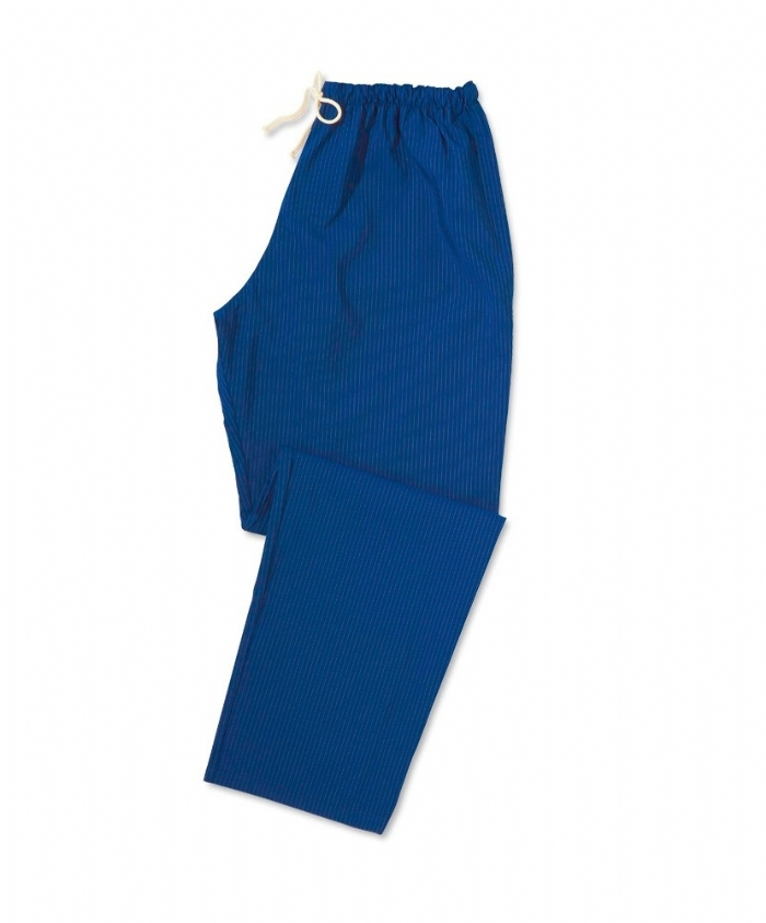 Anti-microbial Scrub Trousers Royal Blue/Silver