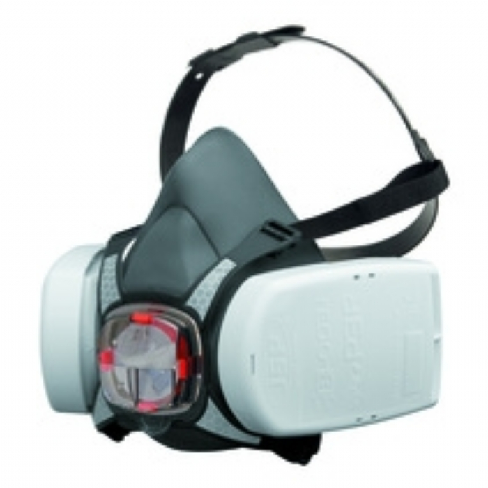 JSP Force 8 Half Mask Respirator with ABEK1P3 Multi-Gas Vapour + Construction Dust Filters