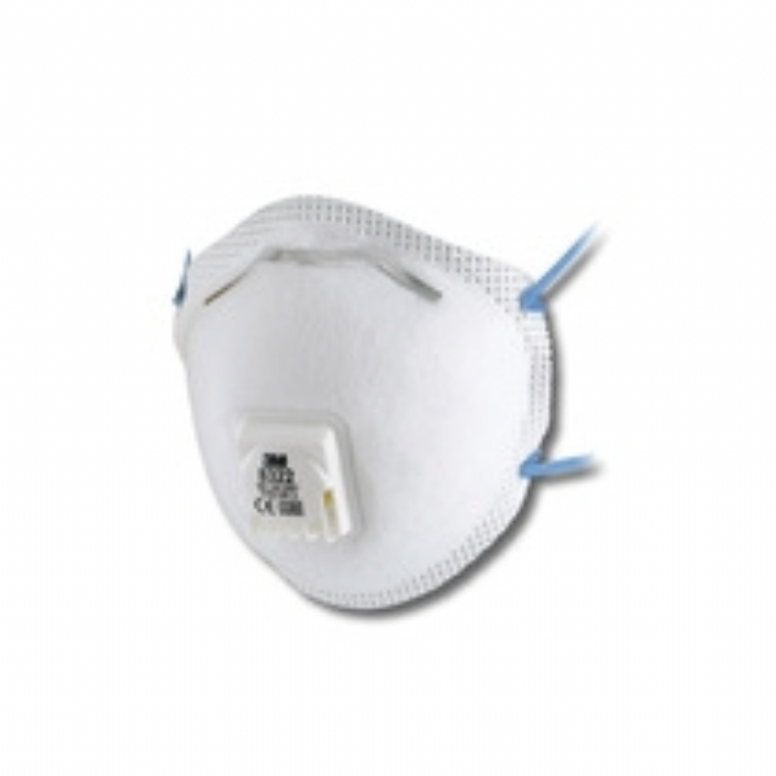 3M 8322 FFP2 Cup-Shaped Valved Dust/Mist Respirator