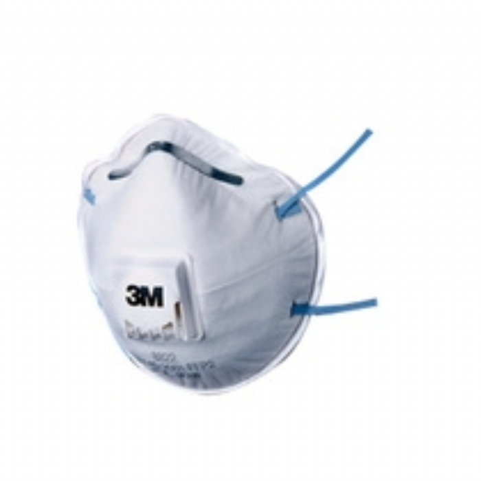 3M 8822 FFP2 Cup-Shaped Valved Dust/Mist Respirator