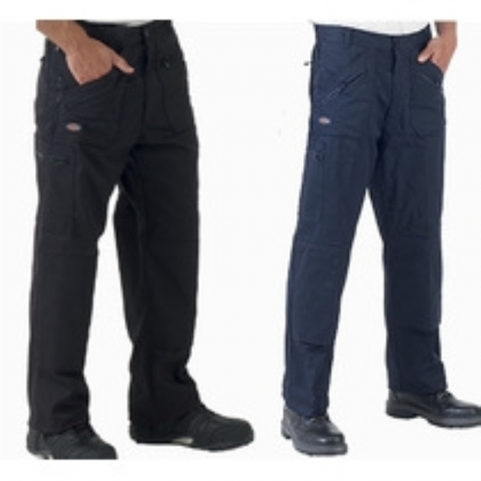 Dickies Redhawk Action Trousers - Black Reg Leg
