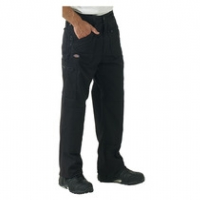 Dickies Redhawk Action Trousers - Black Long Leg