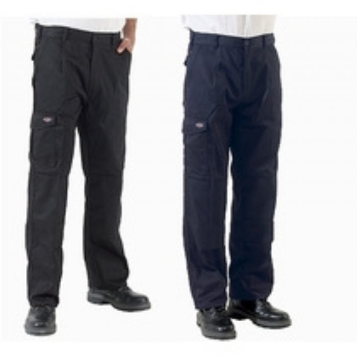 Dickies Redhawk Super Work Trousers - Reg Leg - Black