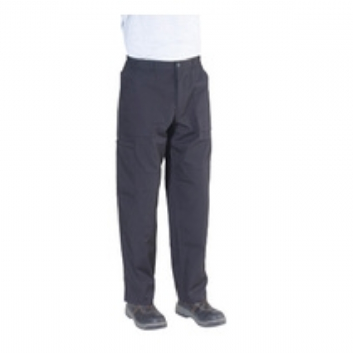 Trousers Polycotton Cargo Endurance Regular Leg - Black