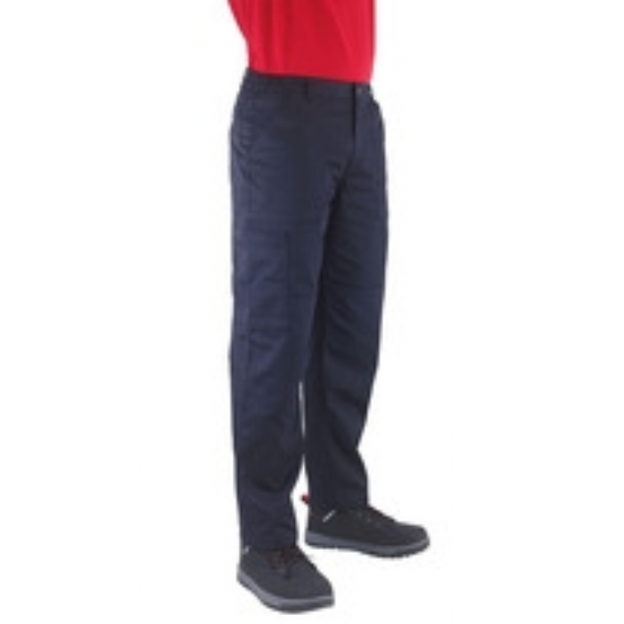 Endurance Mens Polycotton Cargo Trousers Regular Leg