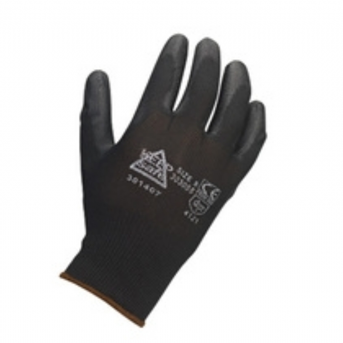 Keep Safe PU Coated Glove - Black