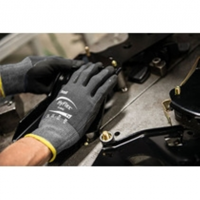 Ansell Hyflex Breathable Foam Nitrile Coated Glove
