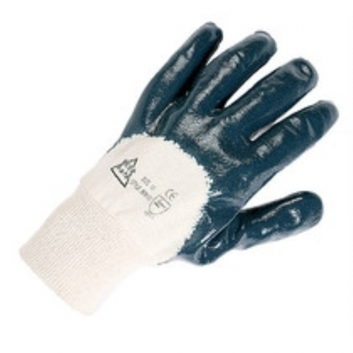 Keep Safe Nitrile Coated Open Back Knitwrist Glove