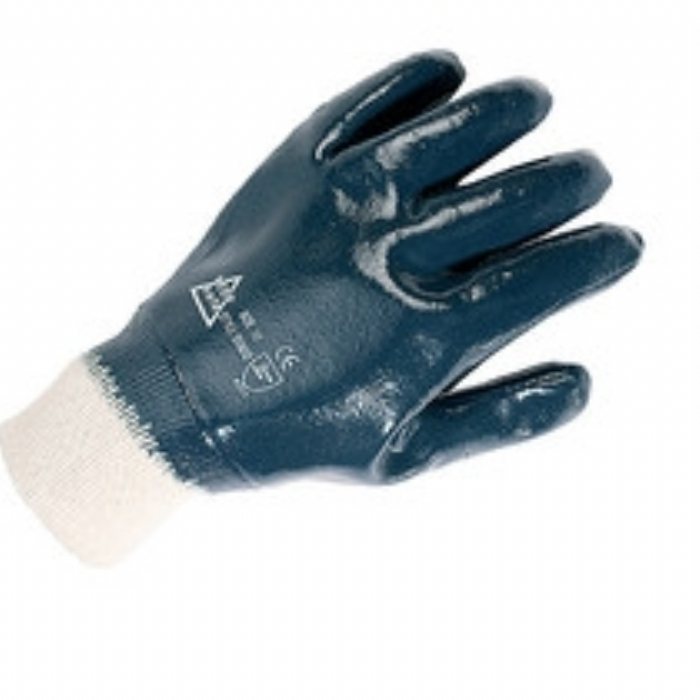 Keep Safe Nitrile Fully Coated Knitwrist Glove