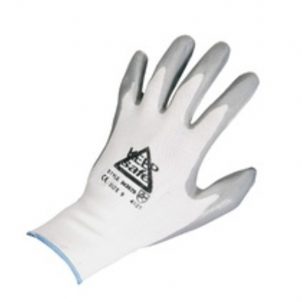 Keep Safe Nitrile Coated Glove | Aston Pharma