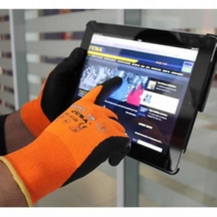 Juba Smart Tip Nylon with Foam Nitrile Coated Glove