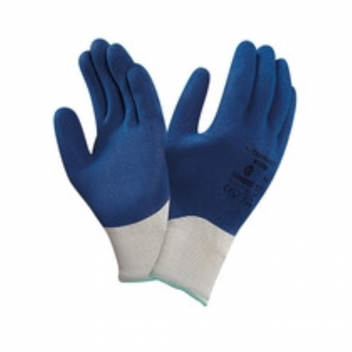 Ansell Hyflex Rough Nitrile Coated Glove