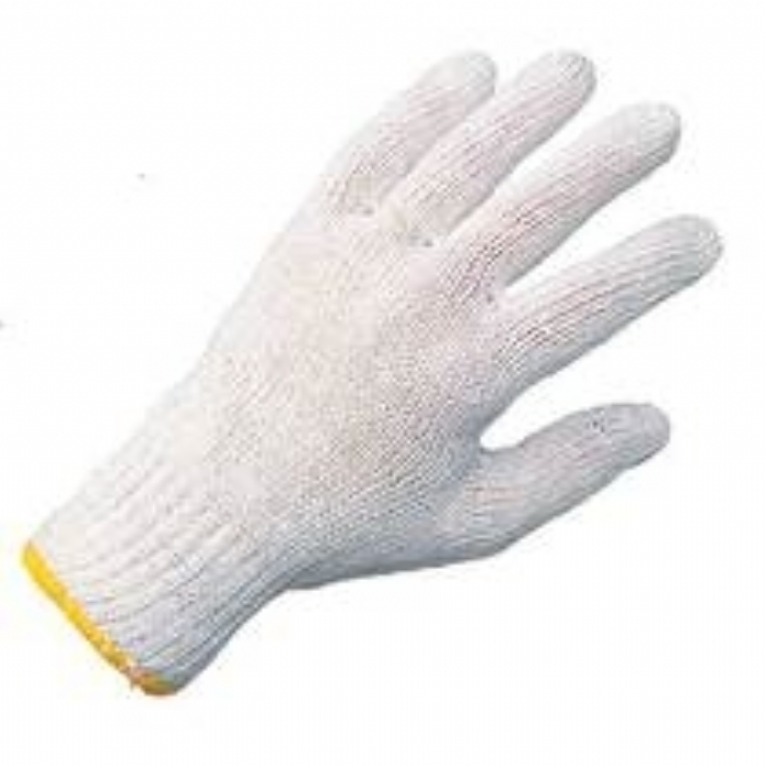 Keep Clean Blended Yarn Knitted Glove
