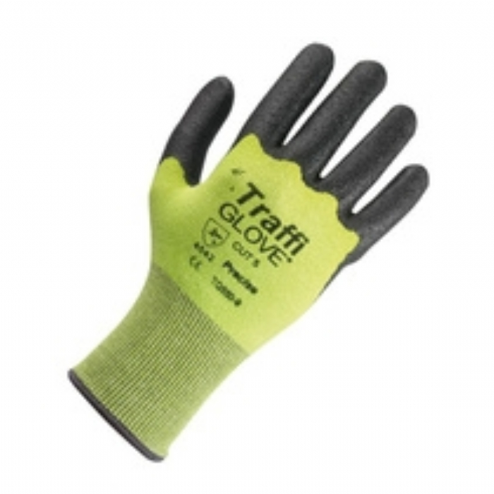 TG550 Precise Nitrile Coated Cut Resistant Green TraffiGlove