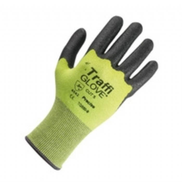 TG550 Precise Nitrile Coated Cut Resistant Green TraffiGlove