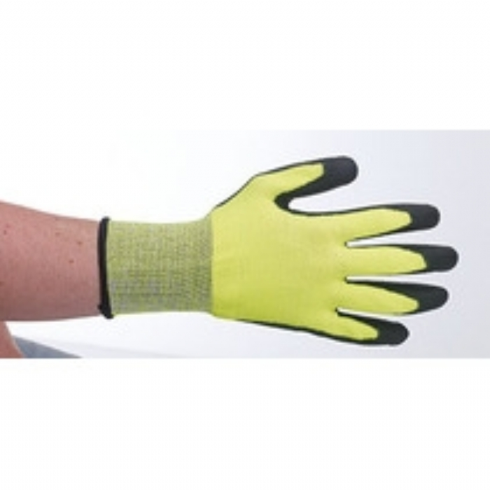 Keep Safe Green PU Coated Cut Resistant Glove